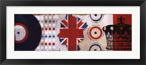Framed British Invasion I Print