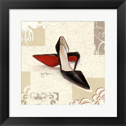 Framed Day Pumps Print