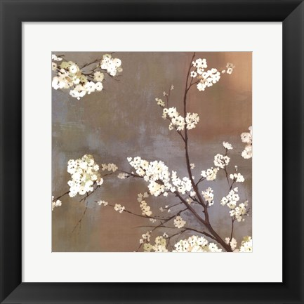 Framed Ode To Spring I Print