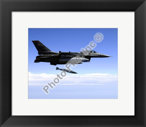 Framed F-16 Fighting Falcon United States Air Force Print