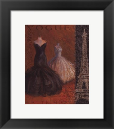 Framed Couture II Print