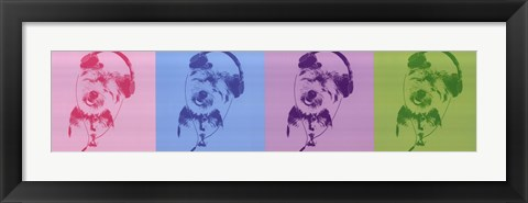 Framed DJ Doggie Quad Print