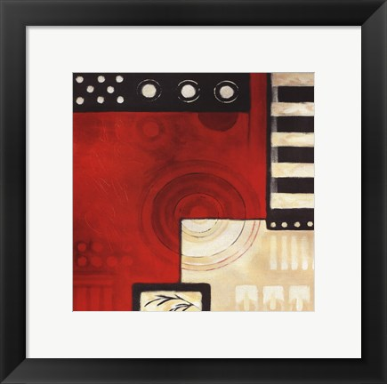 Framed Concentrics II Print