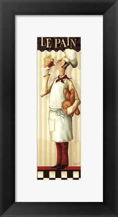 Framed Chef's Masterpiece III Print