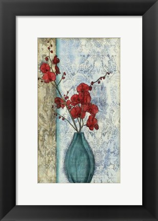 Framed Small Orchid Opulence II (P) Print