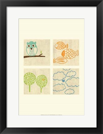 Framed Best Friends Forever IV Print