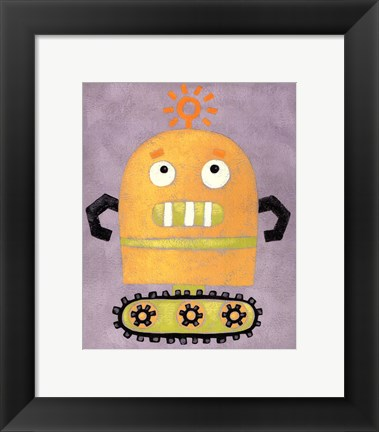 Framed Take me to your Leader II Print