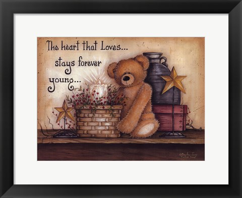 Framed Forever Young Print