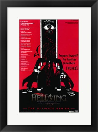 Framed Hellsing Ultimate Print