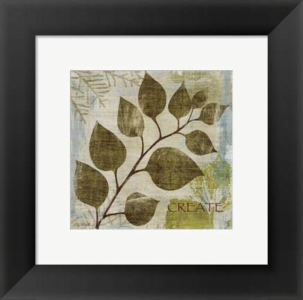 Framed Woodland Thoughts III Print