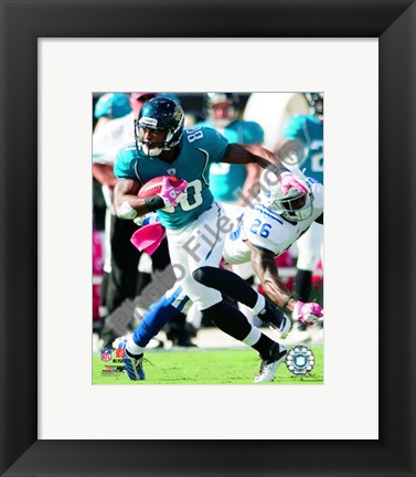 Framed Mike Sims-Walker 2010 Action Print