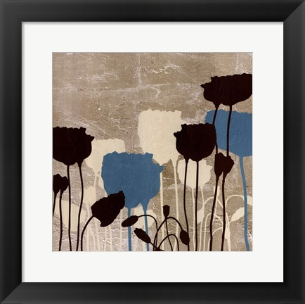 Framed Floral Simplicity III Print