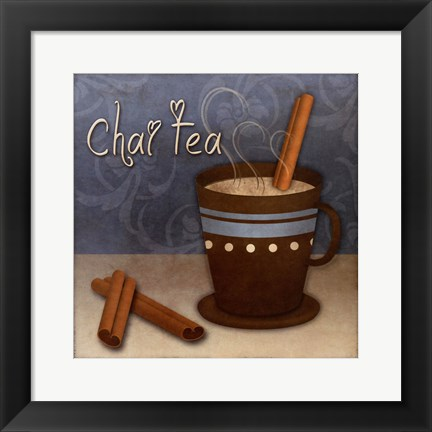 Framed Chai Tea Print