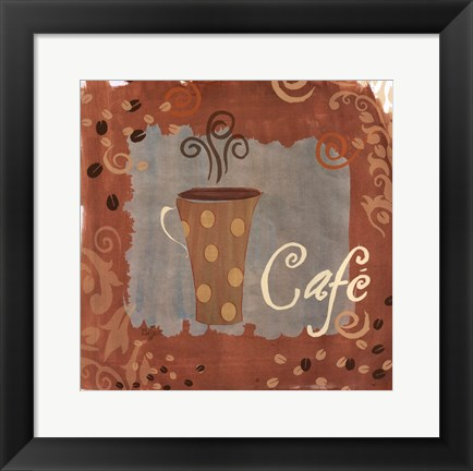 Framed Cafe Print