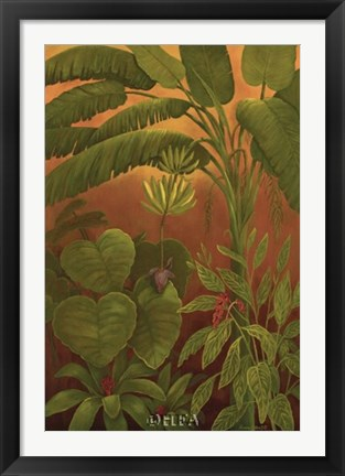 Framed Tropical Delight I Print
