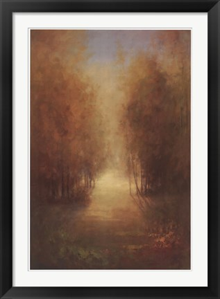 Framed Path of Gold Print