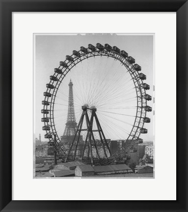 Framed Big Wheel Print