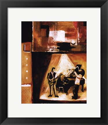 Framed Musical Trio II Print