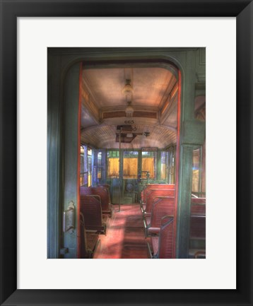 Framed Trolley Aisle, #665 Print