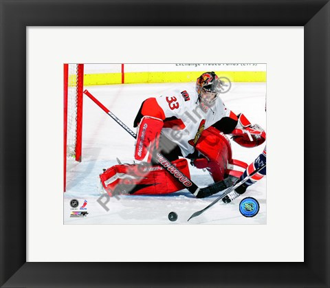 Framed Pascal Leclaire 2010-11 Action Print