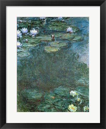 Framed Water-Lilies Print