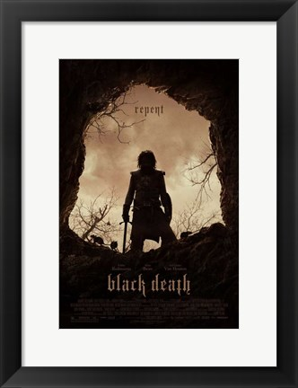 Framed Black Death Print