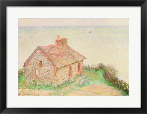Framed House at Douanier, Pink Effect, 1897 Print