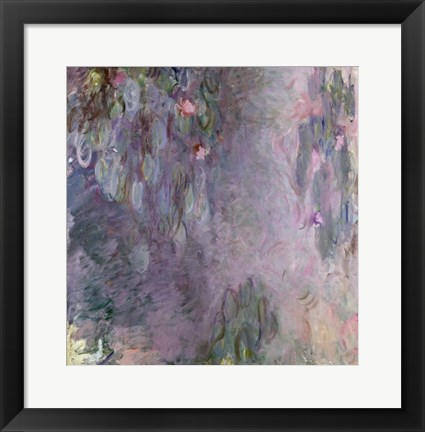 Framed Light-coloured Waterlilies, 1917-25 Print
