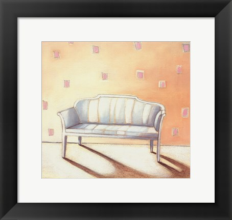 Framed Maria's Loveseat Print