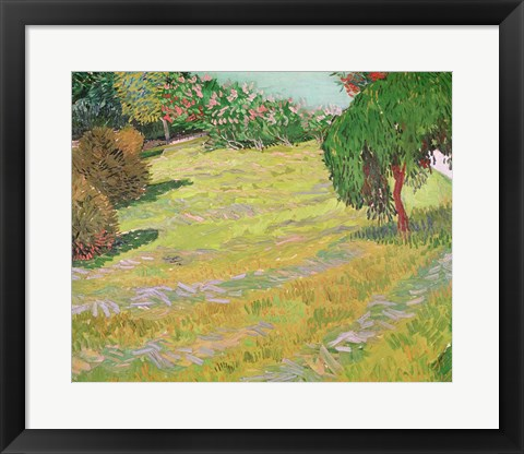Framed Field in Sunlight, 1888 Print