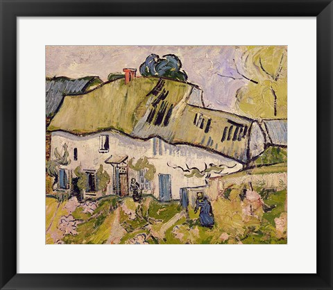 Framed Farm in Summer, 1890 Print