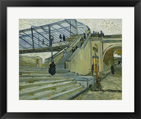 Framed Bridge at Trinquetaille Print