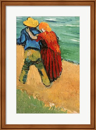 Framed Pair of Lovers, Arles, 1888 Print