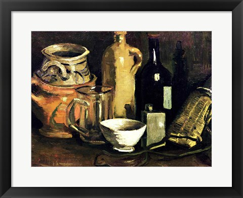 Framed Still Life, 1884 Print