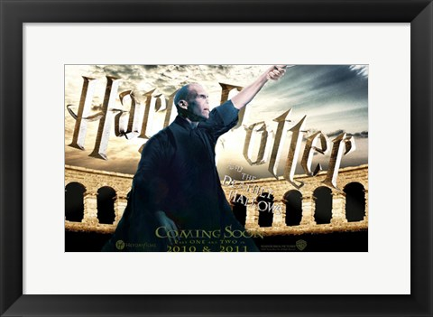 Framed Harry Potter and the Deathly Hallows: Part II - pointing Print