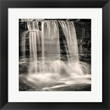 Framed Waterfall, Study #2 Print