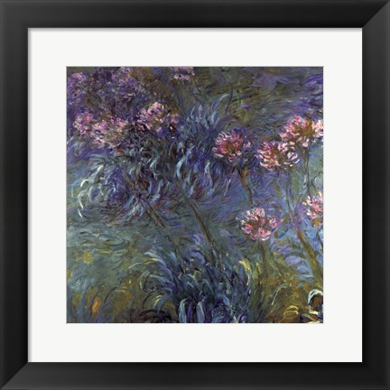 Framed Jewelry lilies Print
