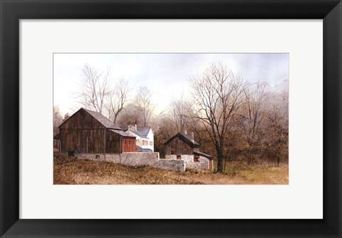 Framed North of New Hope Print