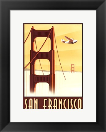 Framed San Francisco Print