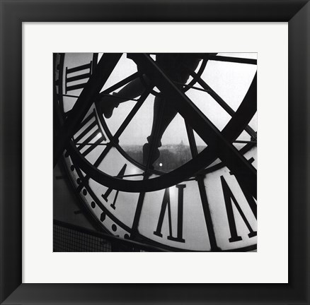 Framed Orsay Clock Print
