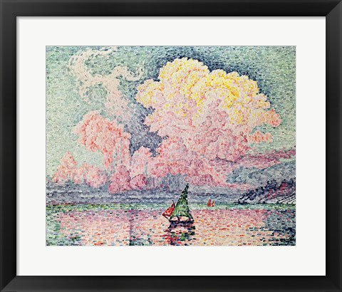 Framed Antibes, the Pink Cloud, 1916 Print