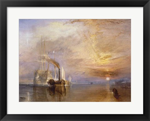 Framed Fighting Temeraire Print