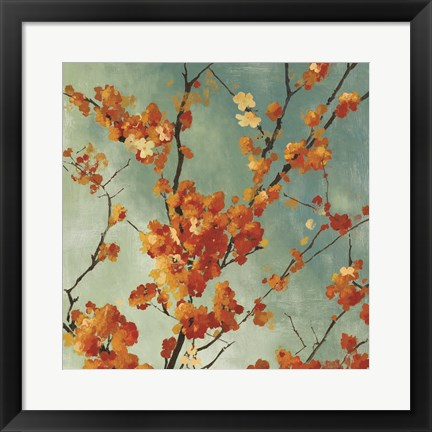 Framed Orange Blossoms I Print