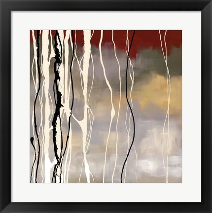Framed Silver Birch II Print