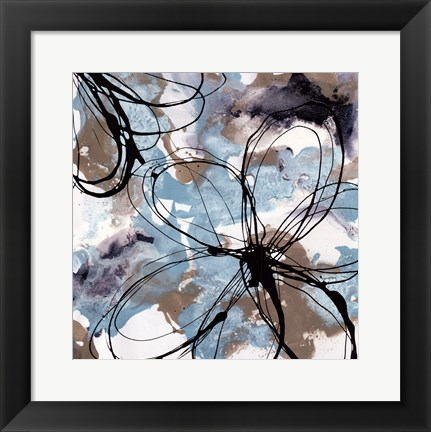 Framed Free Flow II Print
