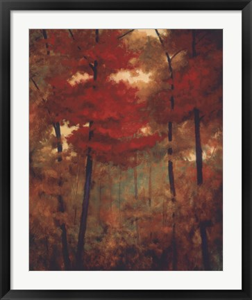 Framed Autumn Woods Print