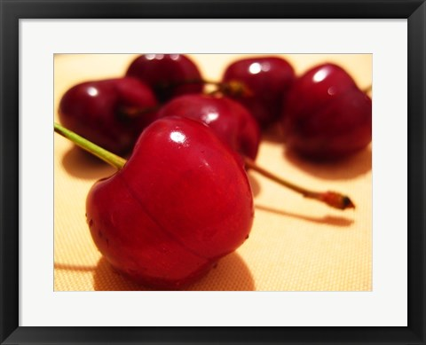 Framed Cherries Print
