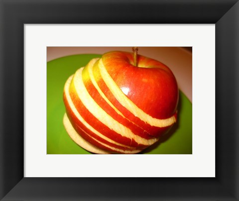 Framed Sliced Apple Print