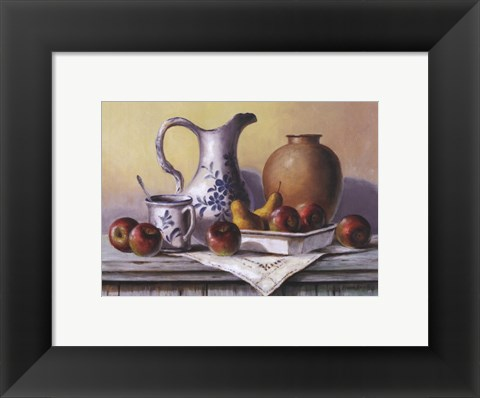 Framed Country Kitchen III Print