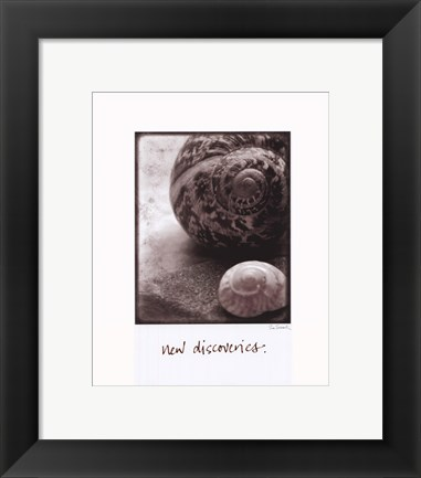 Framed New Discoveries Print